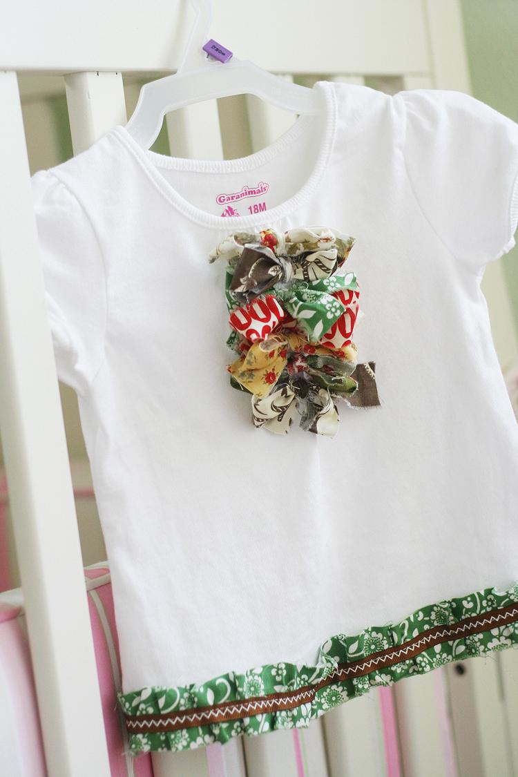 Ruffle shirt 005